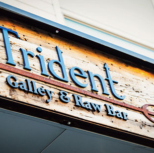 Trident Gallery & Raw Bar near Seascape at Weymouth